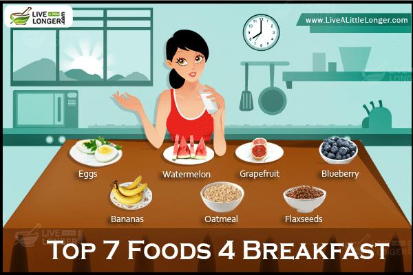 Top 7 Simple Foods For Breakfast