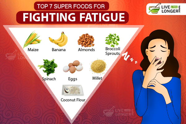 Top 7 Super Foods For Fighting Fatigue