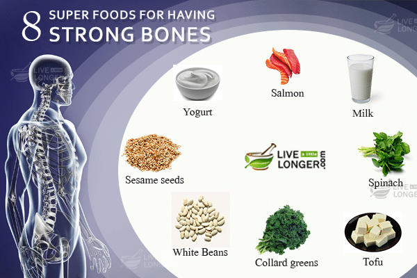 Top 8 Super Foods For Having Strong Bones
