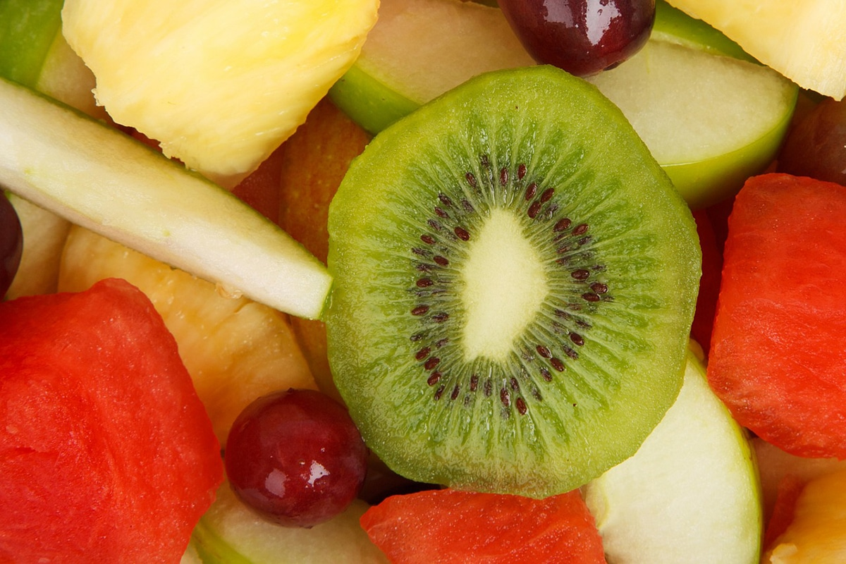 fruit salad for satisfying hunger
