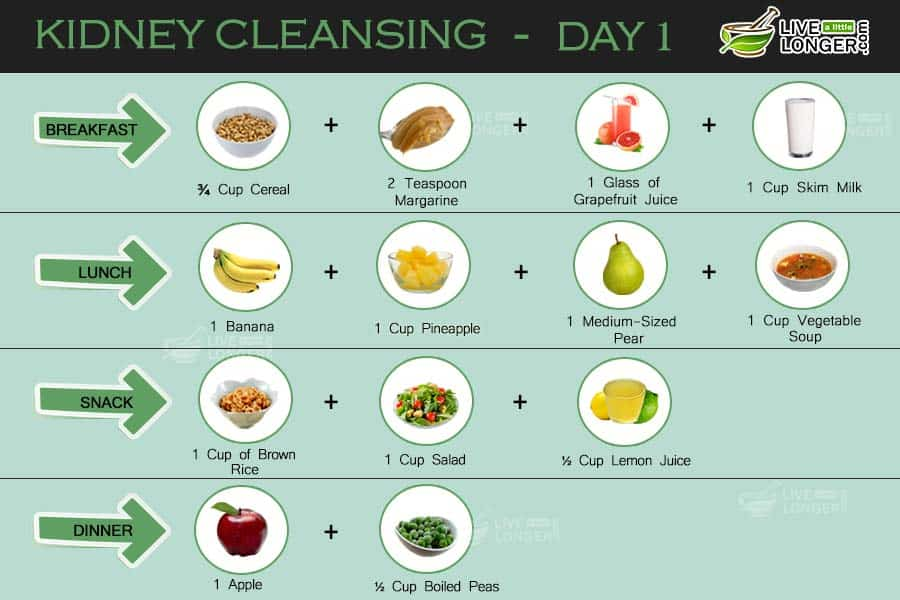 how to cleanse your kidney